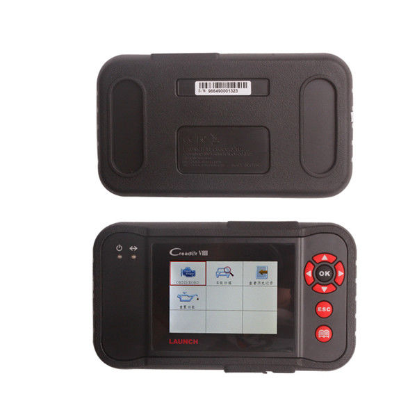 Multi-language Black Launch X431 Scanner Creader VIII Code Reader For Testing Engine