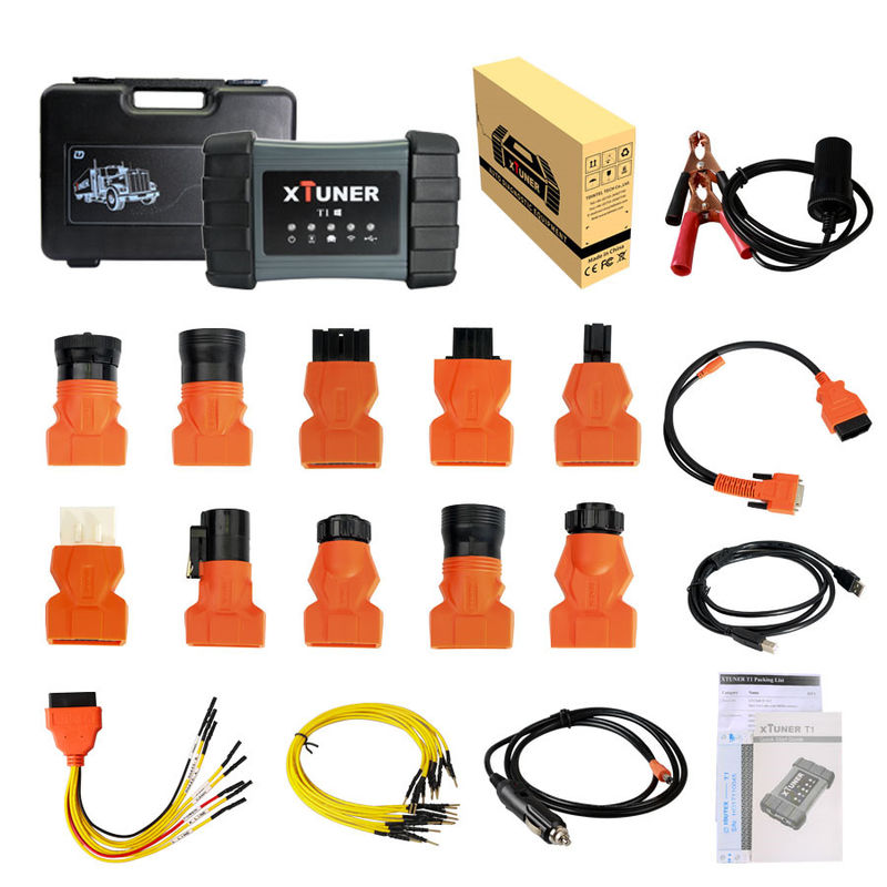 XTUNER T1 Truck Diagnostic Tool , Heavy Duty Intelligent Diagnostic Tool Support WIFI