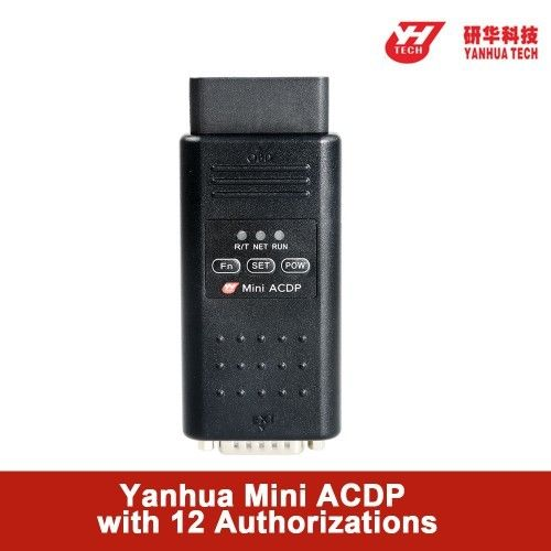 Yanhua Mini ACDP Car Key Programmer Full Configuration With Total 12 Authorizations
