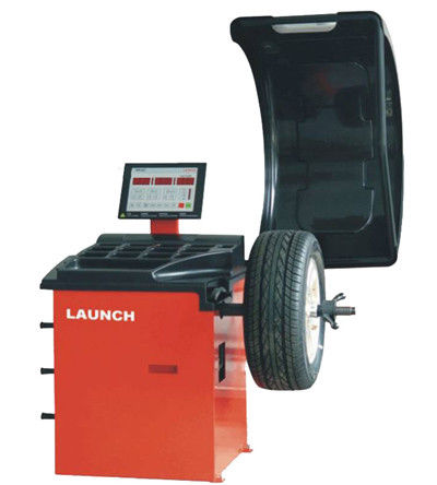 Automatic Auto Workshop Equipment , High Precision Static / Dynamic Wheel Balance Machine